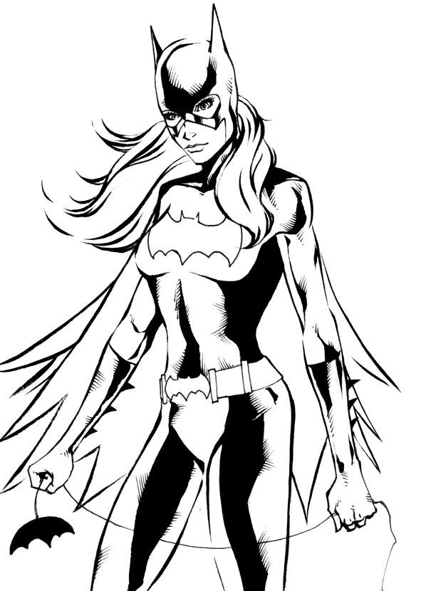 93 Batgirl Coloring Pages Amazing Batgirl Coloring