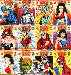 Golden Age of Comics 2 by wheels9696