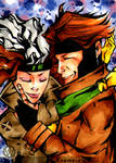 Gambit and Rogue in Love 2