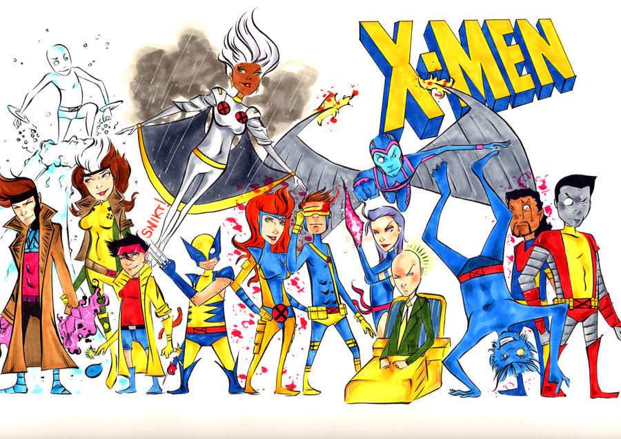 XMEN Blue or Gold? by wheels9696
