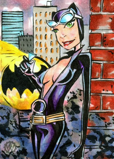 The Cat Sketchcard by wheels9696