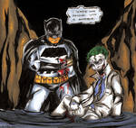 The Dark Knight and Joker Color