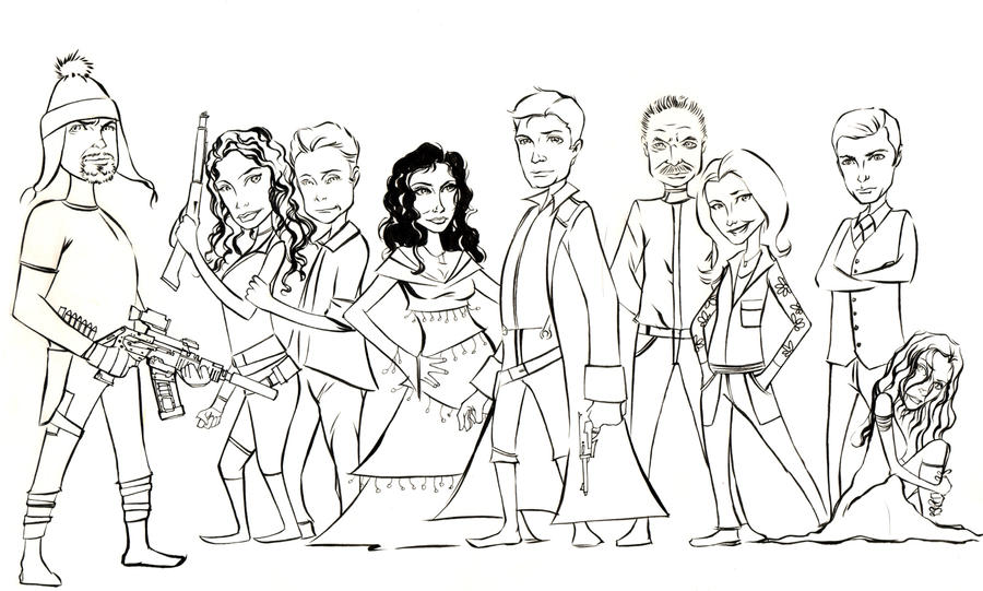 Firefly Lineart by wheels9696 on DeviantArt