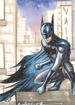 Batman sketch card for Vail