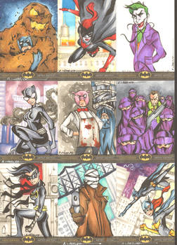 Batman: The Legend Sketchcards 5