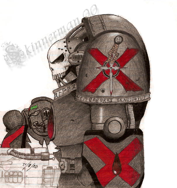 [W40K] Collection d'images : Space Marines Blood_Angels_Death_Company_v1_by_Skinnerman02