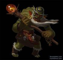 shaman orc by texahol