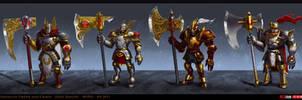 holy knight by texahol