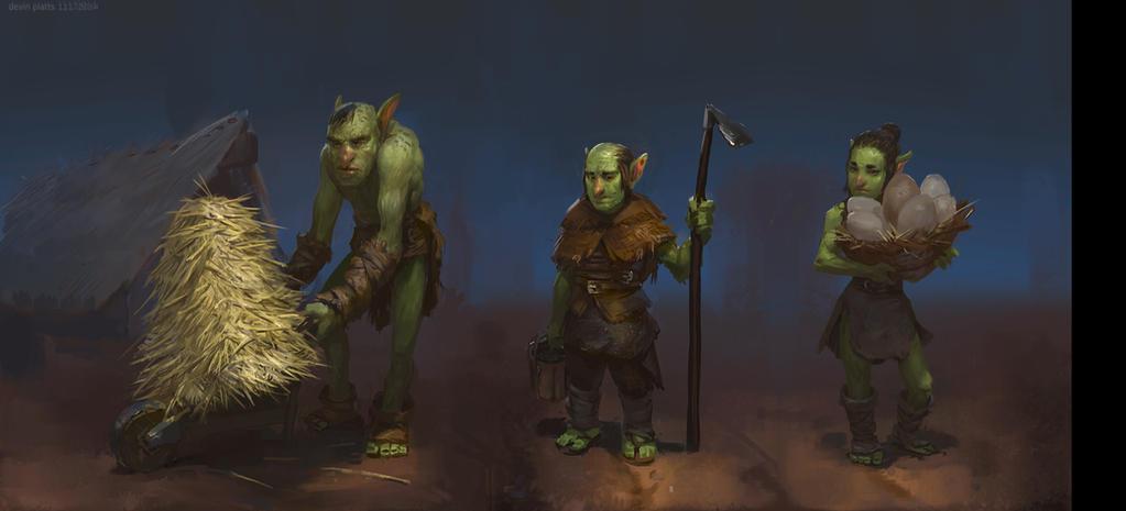 goblin farmers by texahol