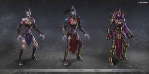 redsteam CA chara Undead Female Mage