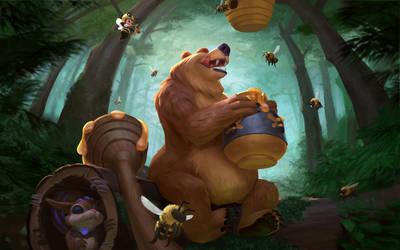 Bacchus Honey Bear by texahol