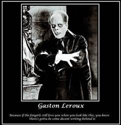 Gaston Leroux by Wolf-Midnight