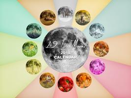 12 Full Moons - 2018 Calendar