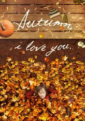 Autumn, i love you. by Loupii