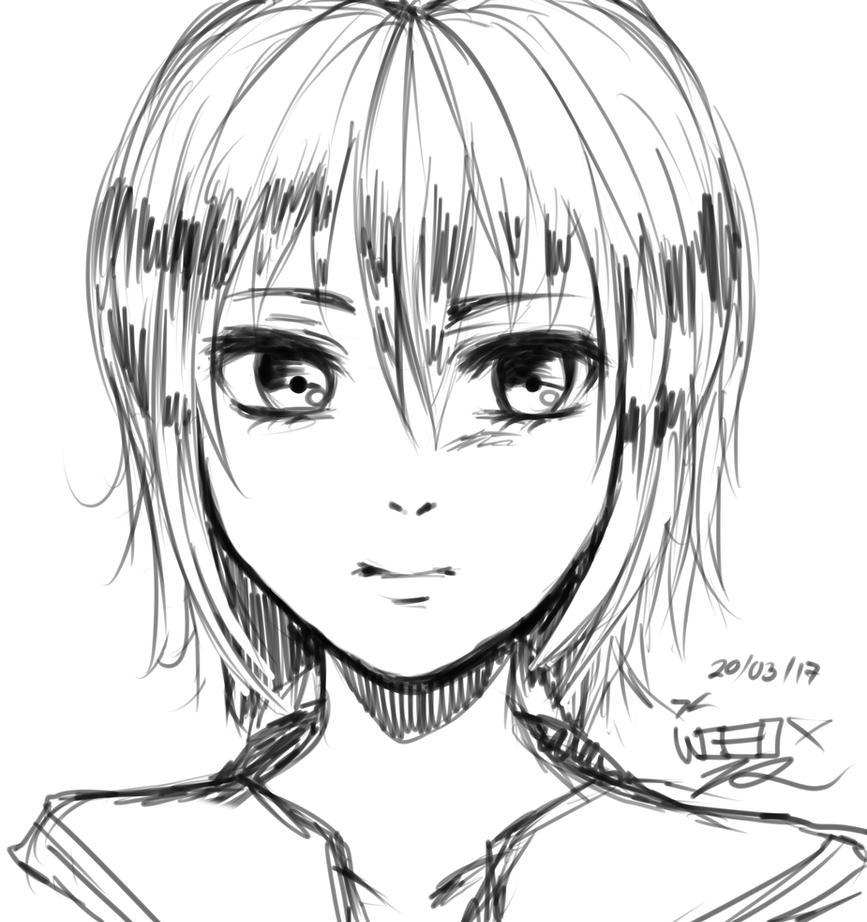 my sketch by wacomire080x