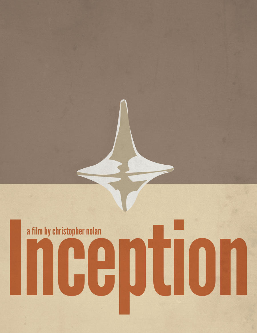 Inception minimalist poster by digitroy on deviantart for Art post minimalisme