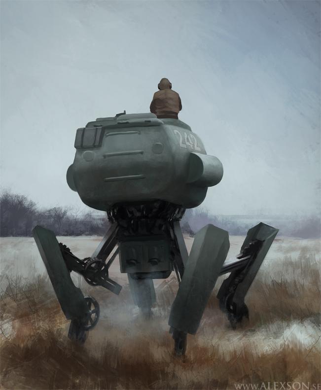 WW2 Mech by alexson1