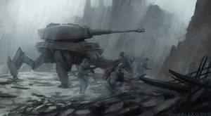 WW2 Tiger mech