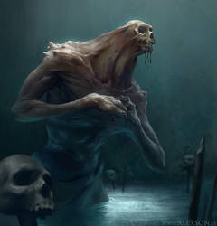 Skull Hoarder by alexson1