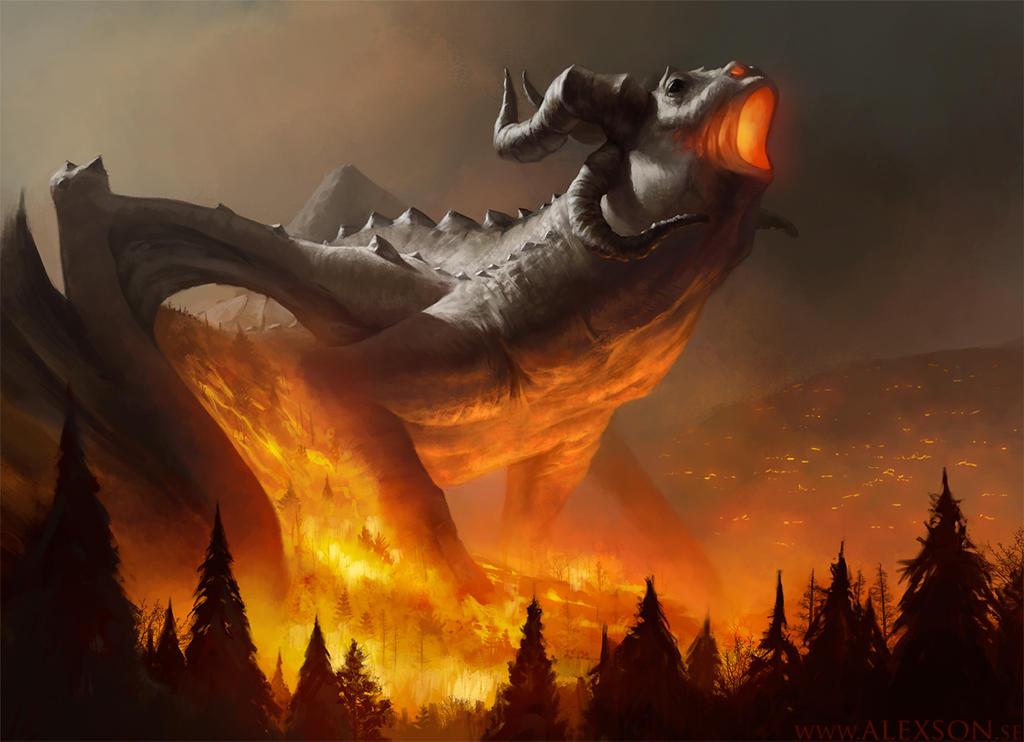 Dragon Fire By Alexson1 On DeviantArt