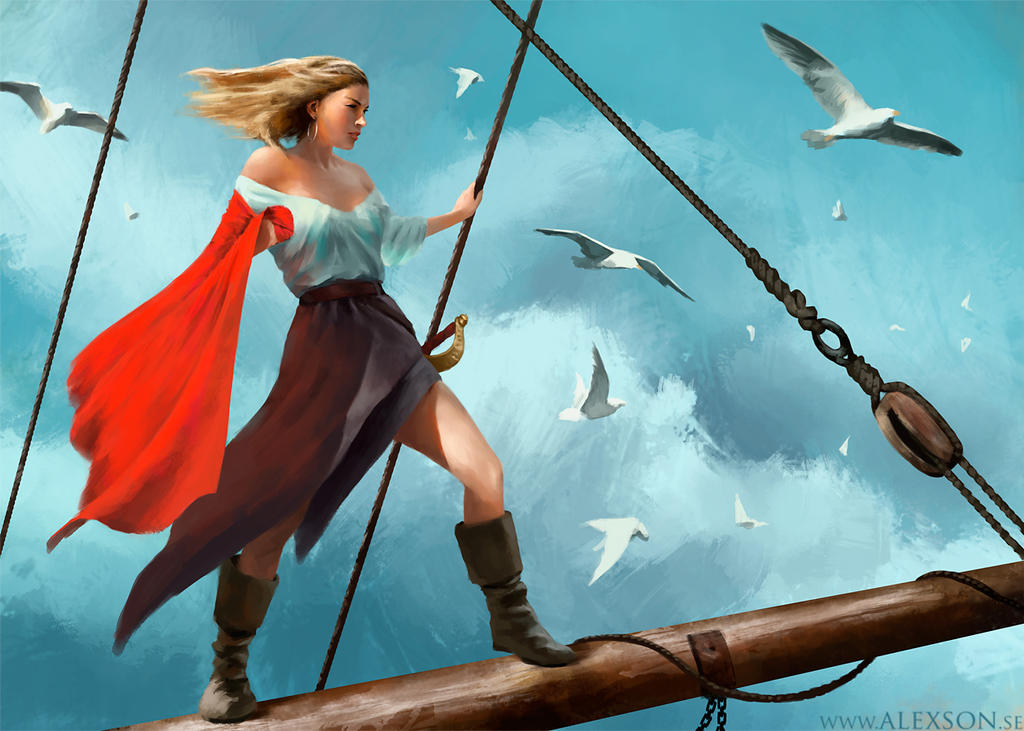 Setting Sail by alexson1