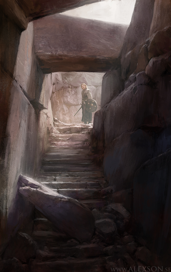 Into the crypt by alexson1