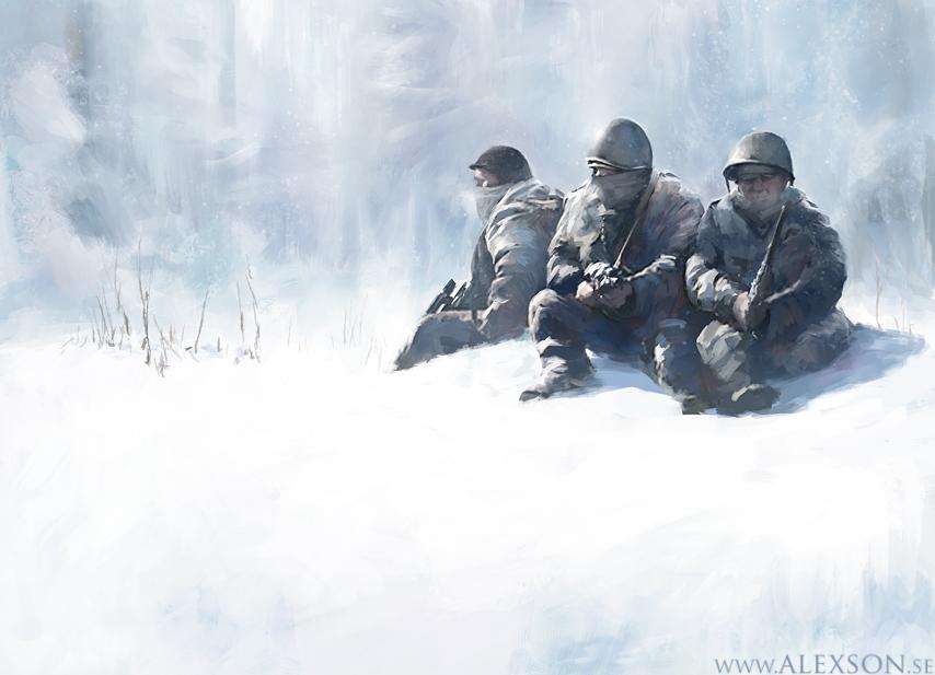Snowldiers by alexson1