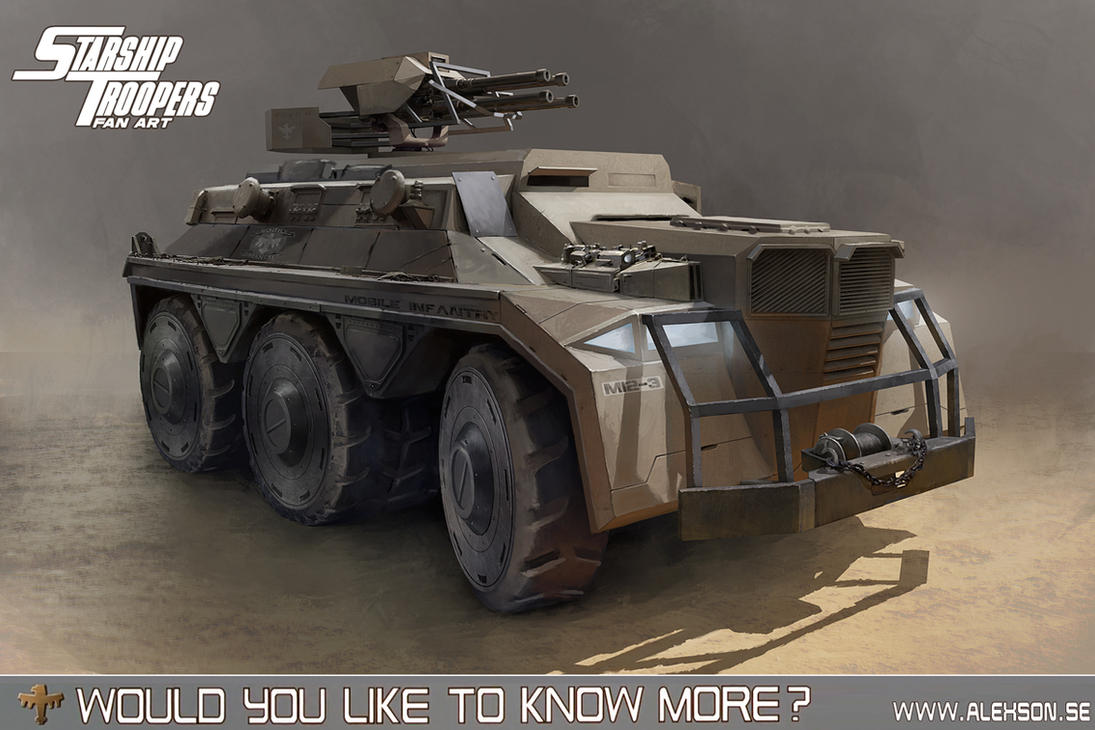 StarShip Troopers APC by alexson1