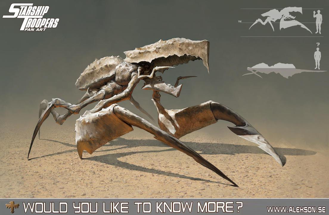 StarShip Troopers ambusher by alexson1