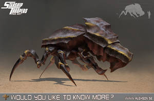 StarShip Troopers bug tank by alexson1