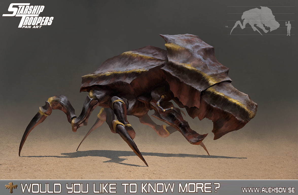 StarShip Troopers bug tank by alexson1 on DeviantArt