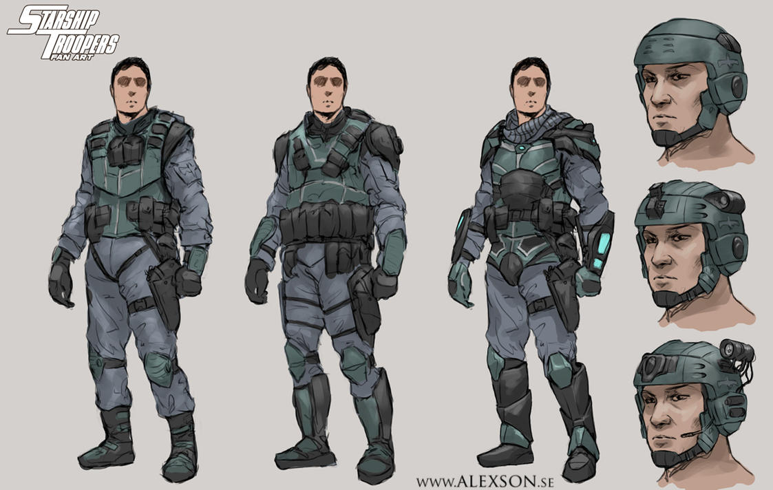 Ferdinand Fuhrn: The Workaholic Starship_troopers_mobile_infantry_by_alexson1-d89xgsy