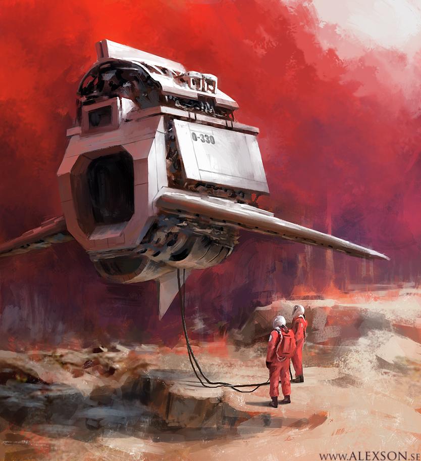 Spaceship x by alexson1