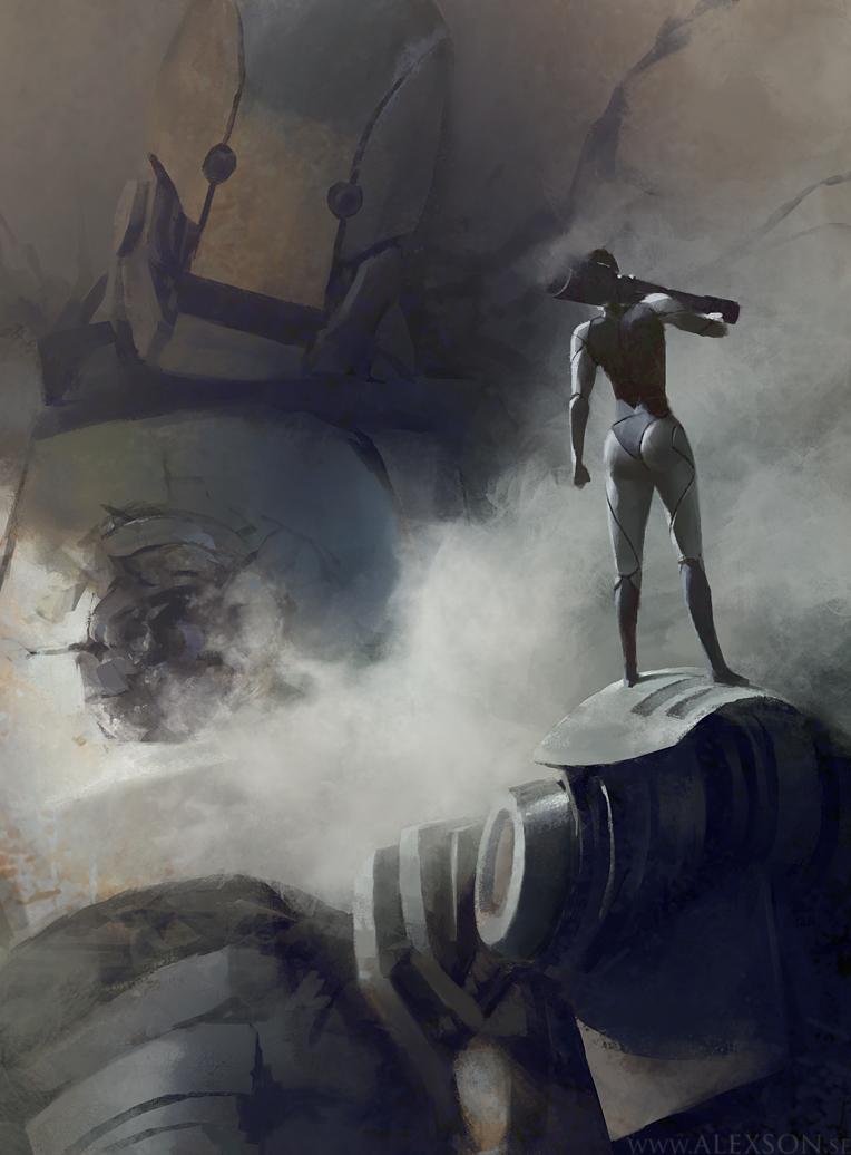 Robot by alexson1