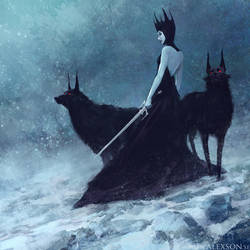 Ice queen by alexson1