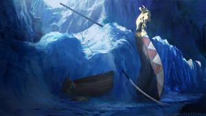 Lost Viking Ship by alexson1