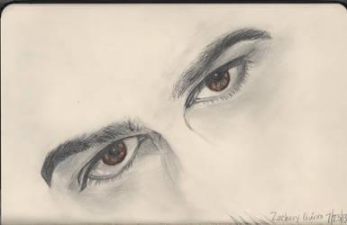 Zachary Quinto (eyes) by Shas123