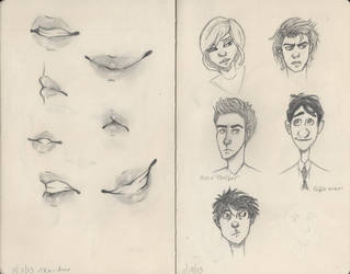 Pages from my moleskine by Shas123