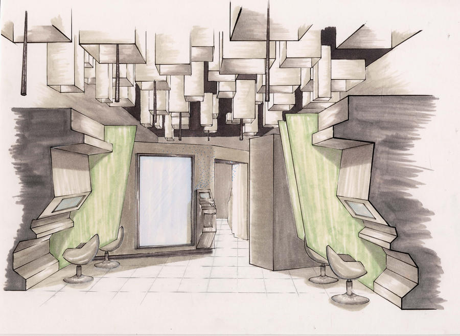Retail space design by whatistug on deviantart for Space designers