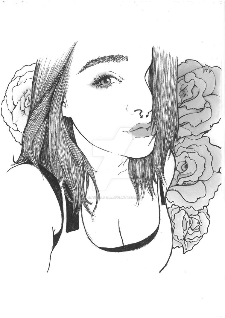 Selfie by Pencilscrack