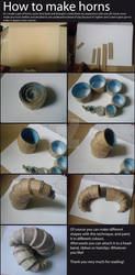 How to make horns