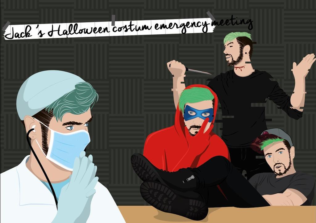 Jack's emergency meeting by MonkeyNumber5
