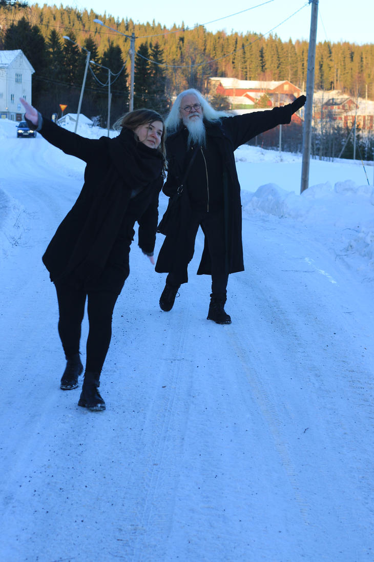 Merry winter dance by erikalr