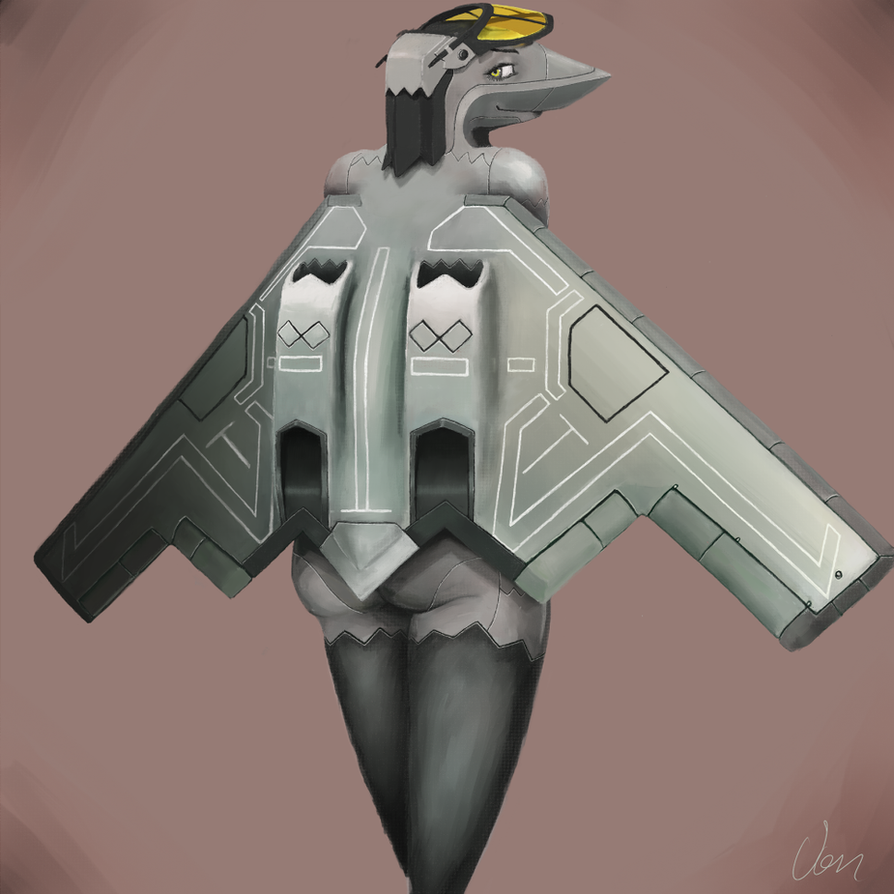 B2 bomber by VonKickass