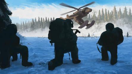 Alaskan UH-60L Black Hawk