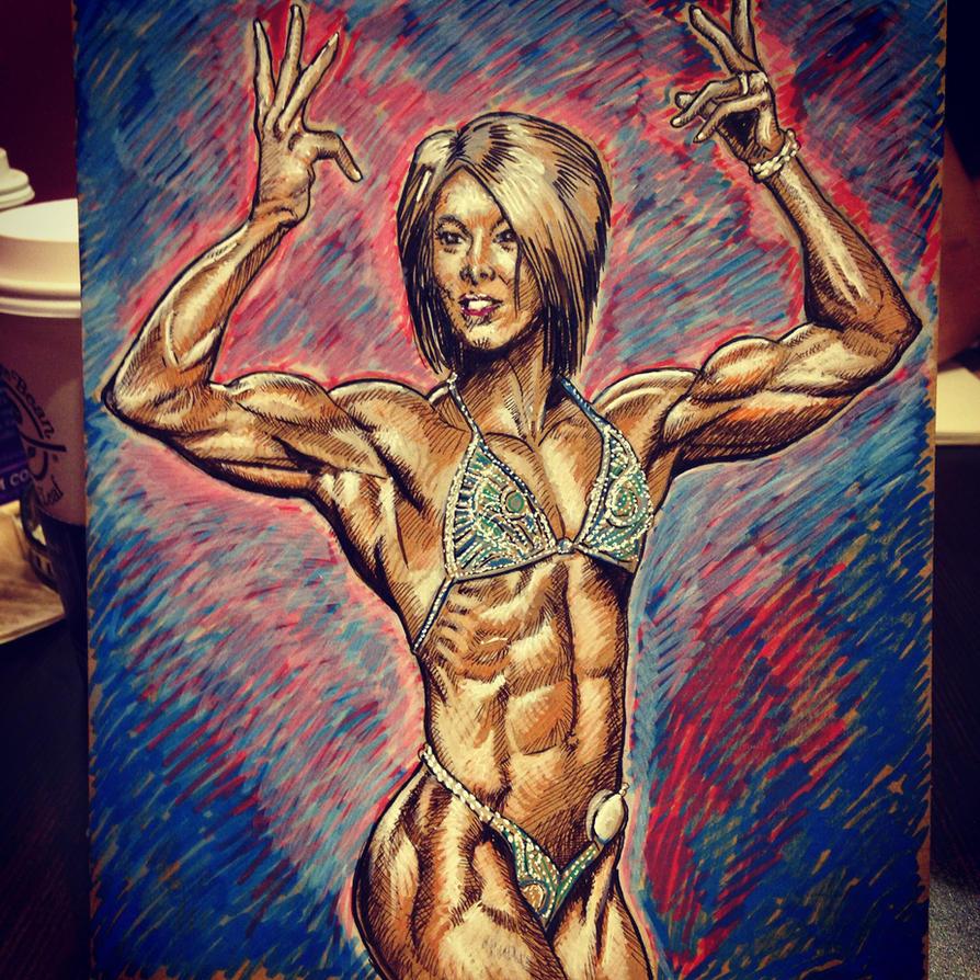 Dana Lynn Bailey by rynoman190