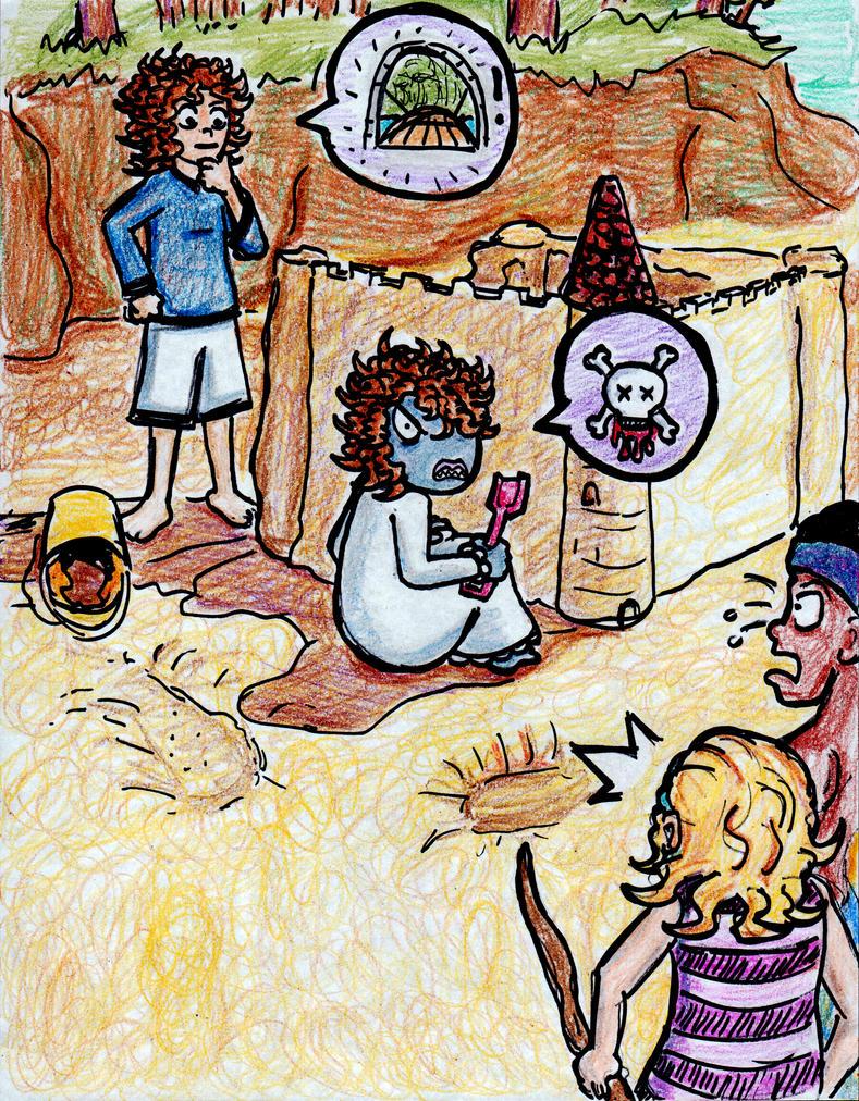 Crayon Odyssey 6 by EvilCake