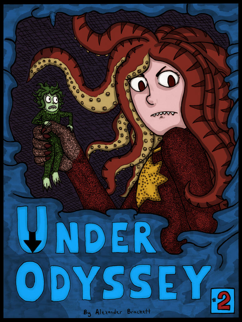 Under Odyssey Chapter 2 Cover Colored by EvilCake