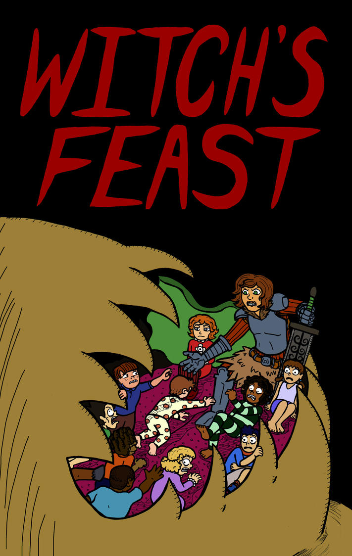 Witch's Feast Cover by EvilCake