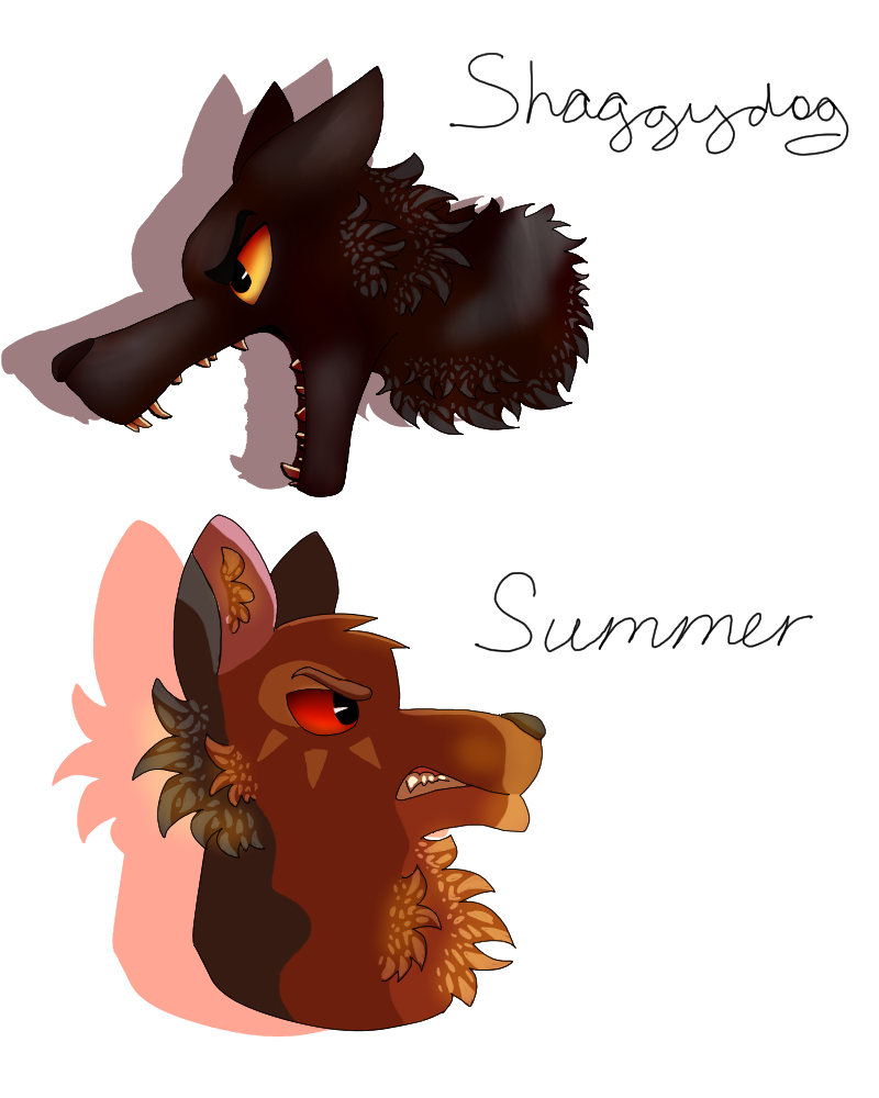 Stark Direwolves (Part 3) by TheMashedCat